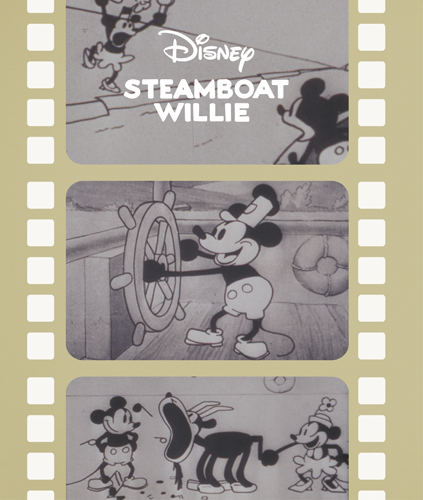 Disney STEAMBOAT WILLIE イメージ1